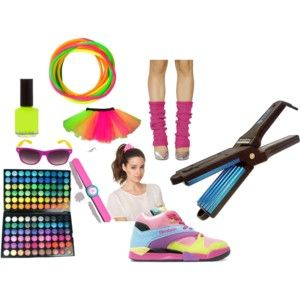 Hair scruchies, crimping irons, leg warmers, jelly bracelets... Ahhh the 80's!