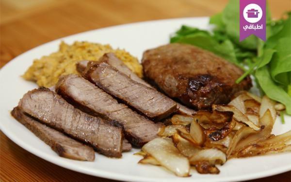 Beef Steak With Mashed Beans فيليه اللحم مع مهروس الفاصولياء Food Arabic Food Meat