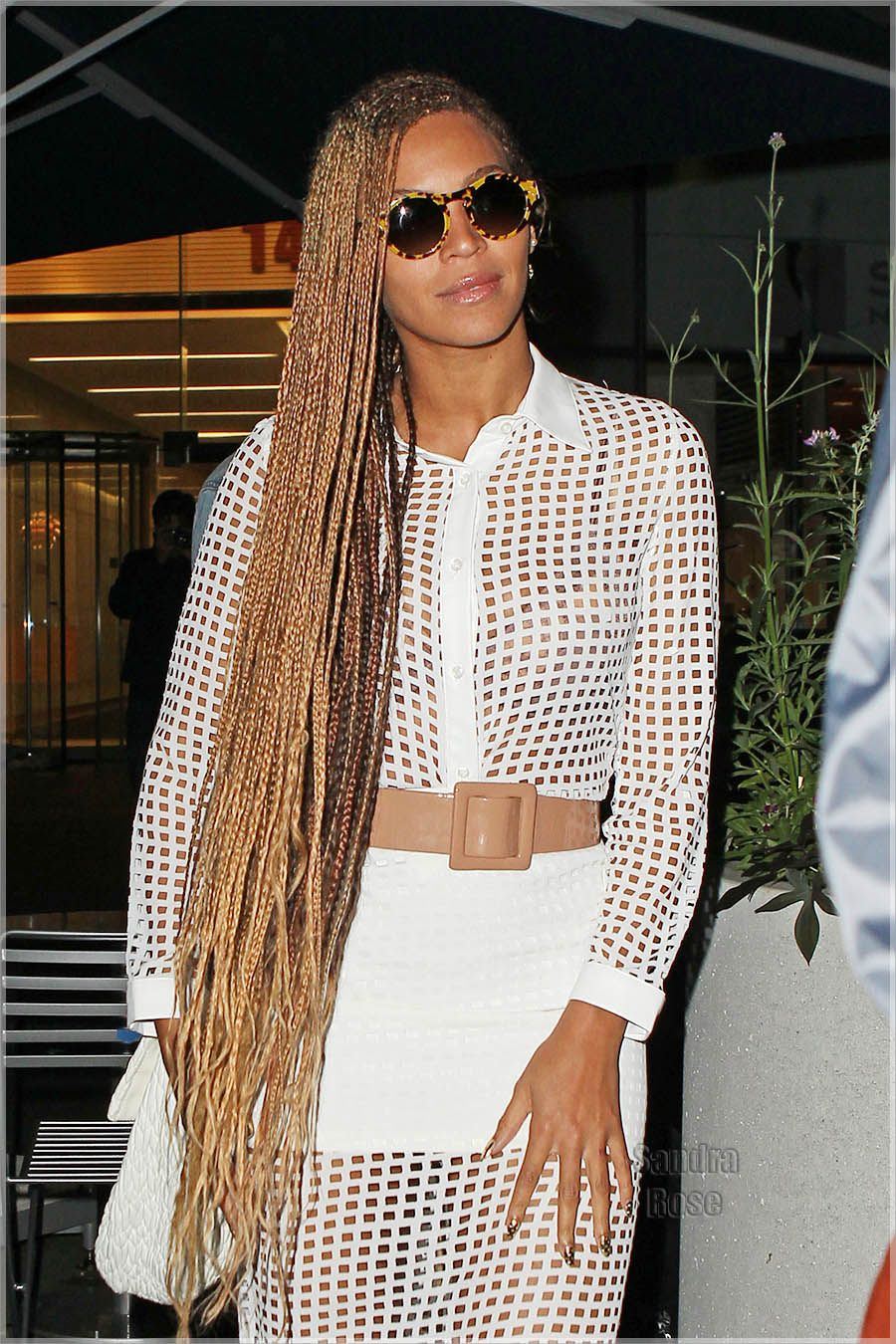 Brown And Blonde Micro Braids Beyonce Braids 2014