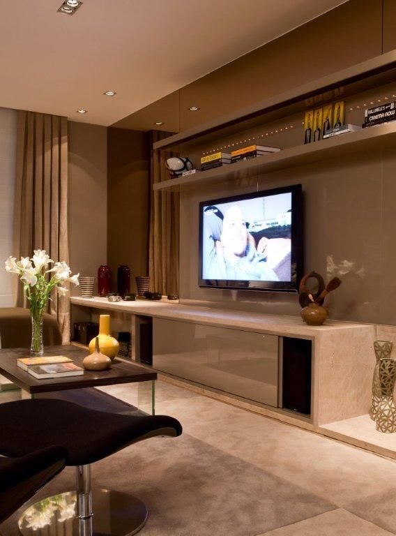 Salas de TV on Pinterest  Home Theaters, Tv and Mesas