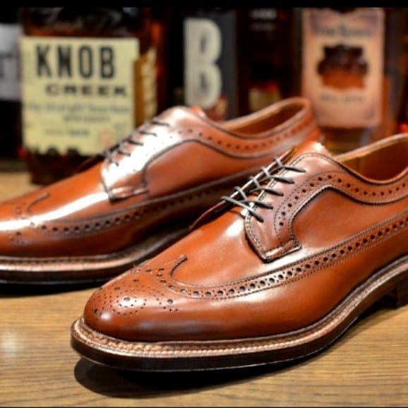 ab7e7ce571d BRITISH SHOES X ALDEN Modèle longwing en exclusivité à la boutique British  Shoes 8 rue de