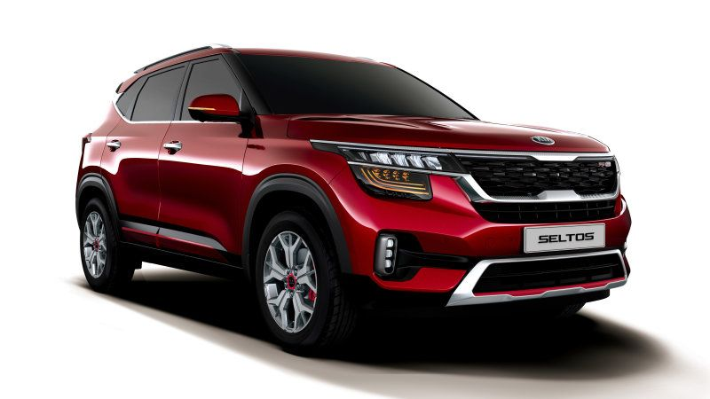 Kia Seltos Small Crossover Gives Us Its Best Look Yet In India Kia Suv Small Suv