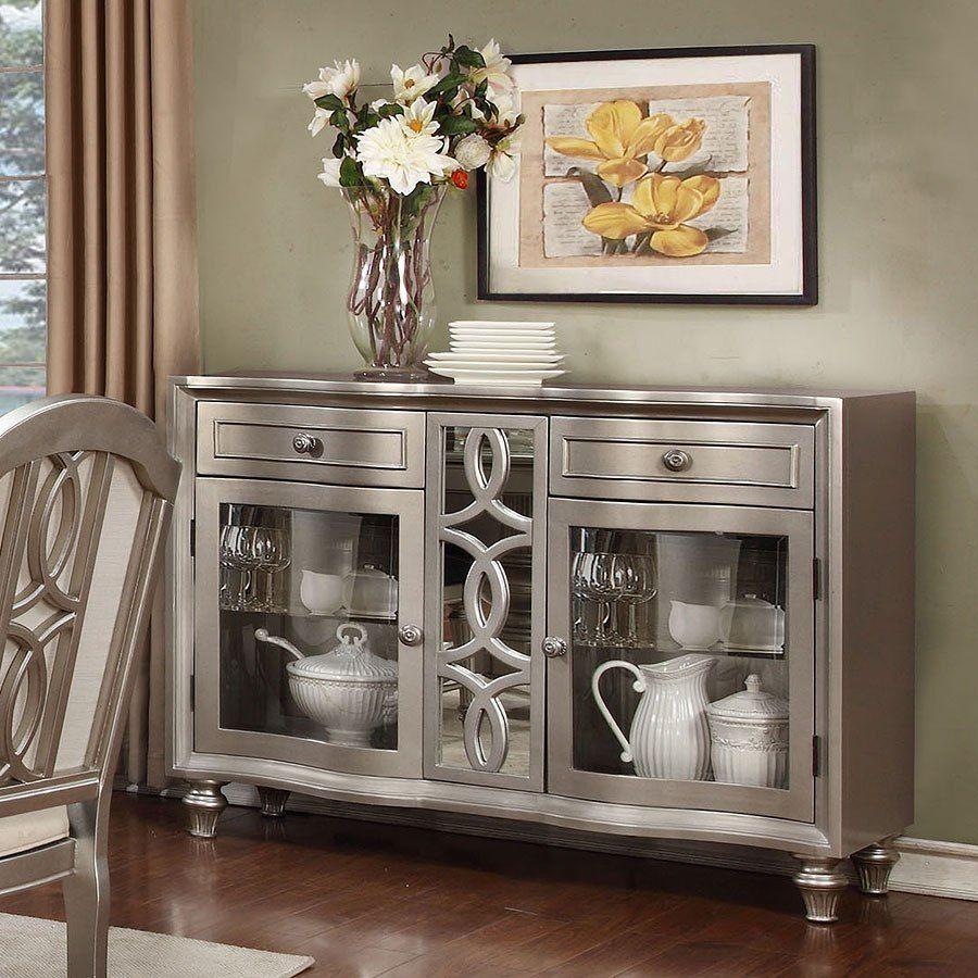 Regency Park Sideboard Platinum Furniture Inspiration