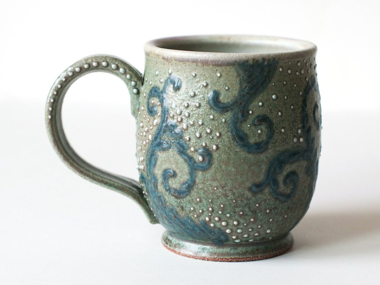 DiTerra starry night pottery