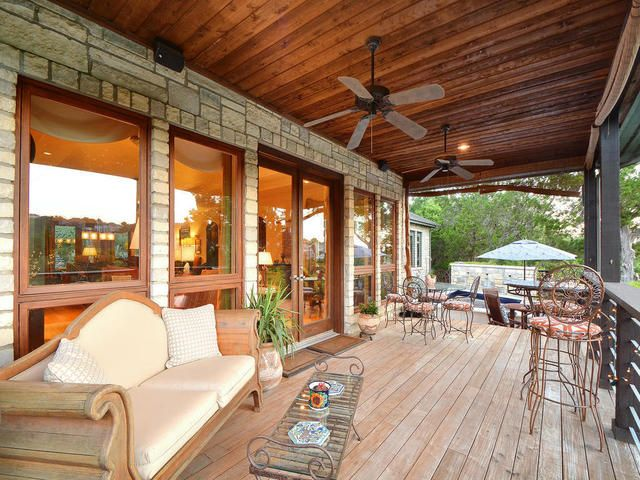 Huge Covered Patio, Perfect For Enjoying The Views 4326 Palladio Drive,  Austin, TX