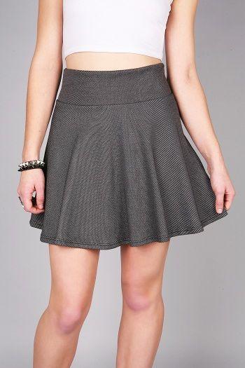 Pin Point Skater Skirt | Cute Skirts at Pink Ice #skaterskirt #skirts #classicskirt #pinkice
