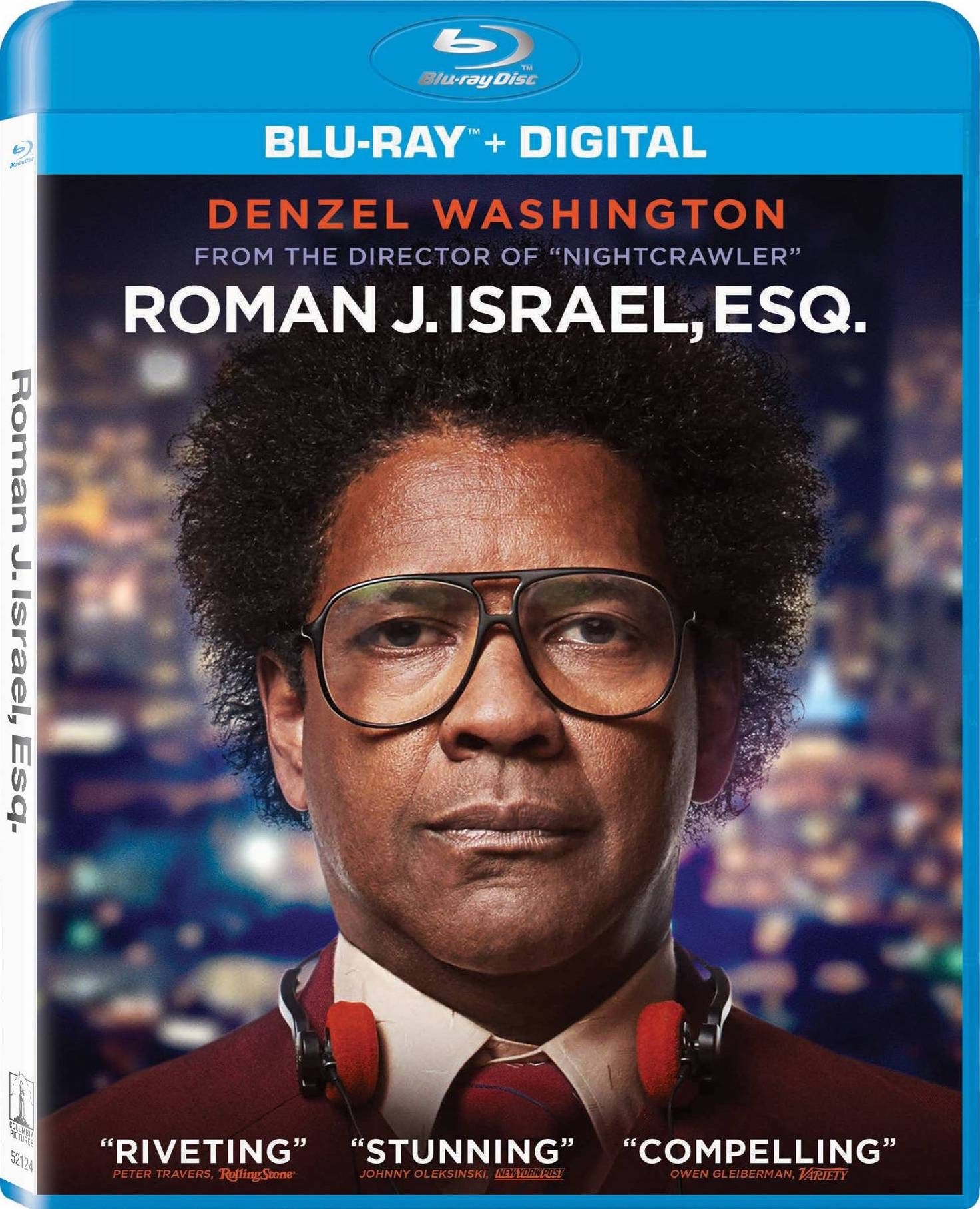 ROMAN J. ISRAEL, ESQ. BLU-RAY (SONY PICTURES) | RECENT AND UPCOMING ...