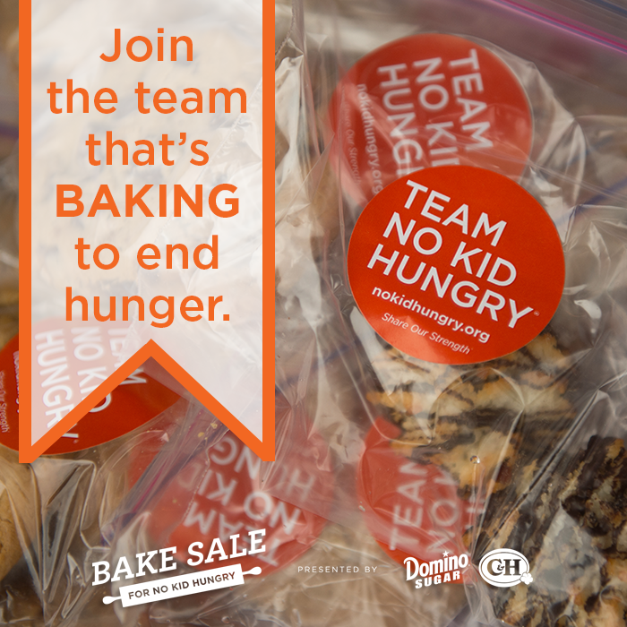 """Today is #HomemadeCookiesDay! Join Team No Kid Hungry and start """"baking a difference!"""" http://www.nokidhungry.org/bake"""
