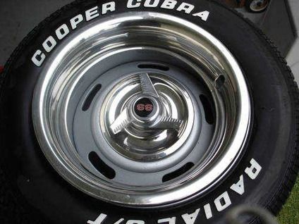 Cooper Cobra Tires With Rally Wheels And Spinner Wheels And