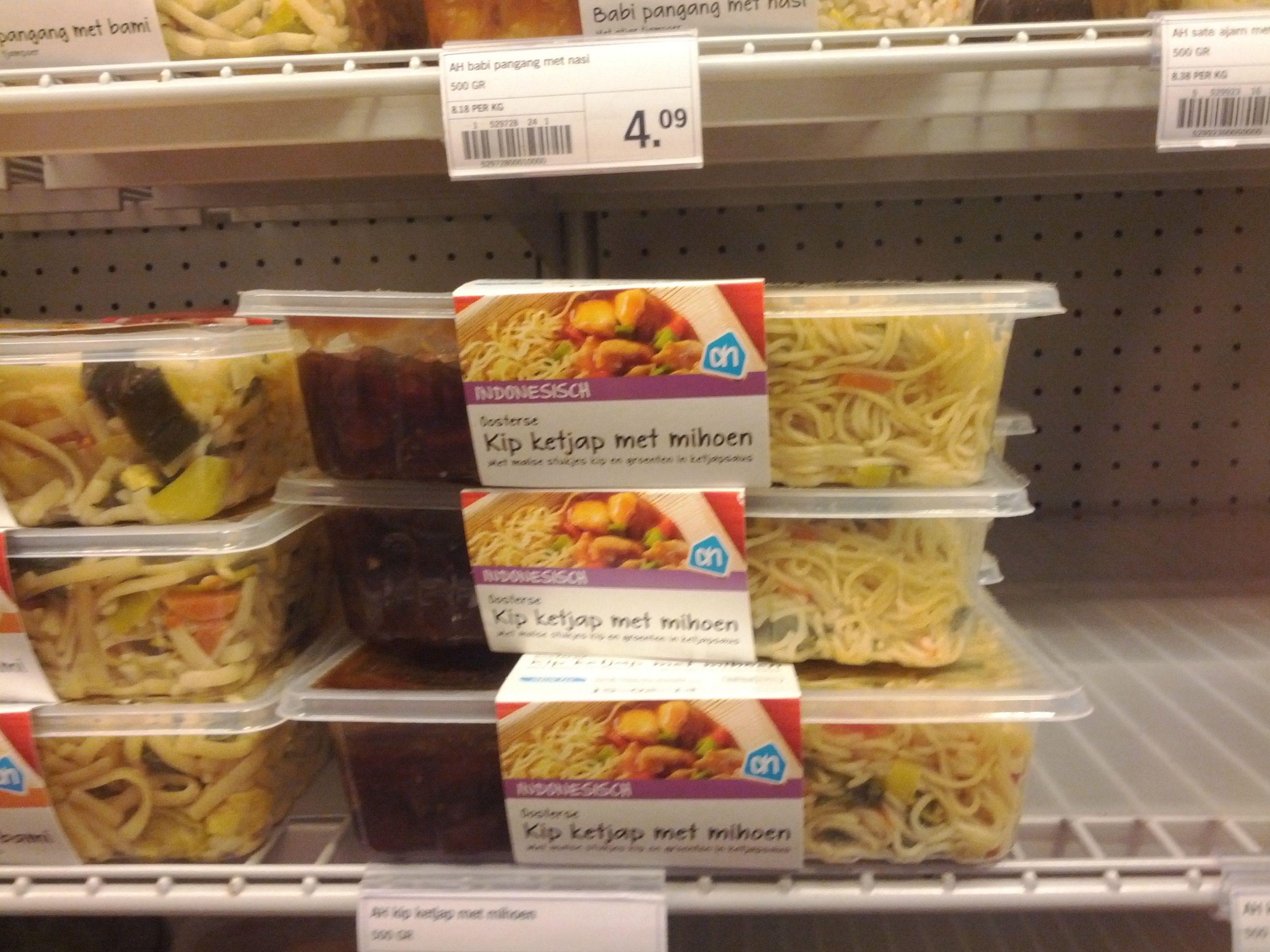 Kant en klaar maaltijden Trend: steeds meer gemaksgoederen