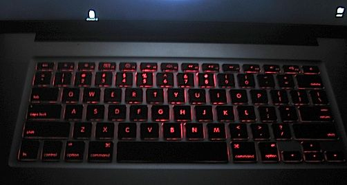 Change the color of Backlight illumination on a MacBook Pro Keyboard