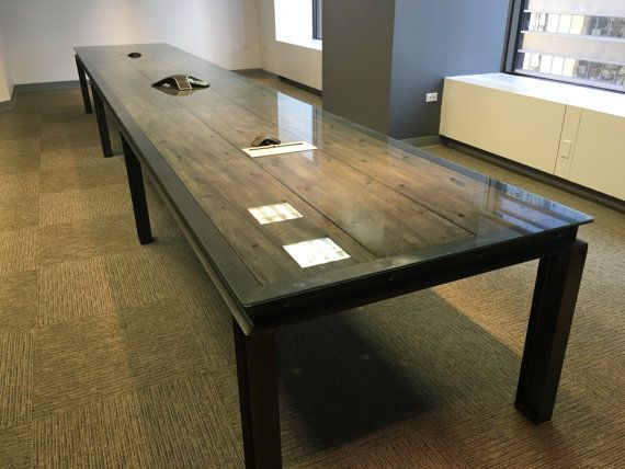 This Listing Is For A Made To Order Ibeam Dining Table Desk Or - 7 ft conference table