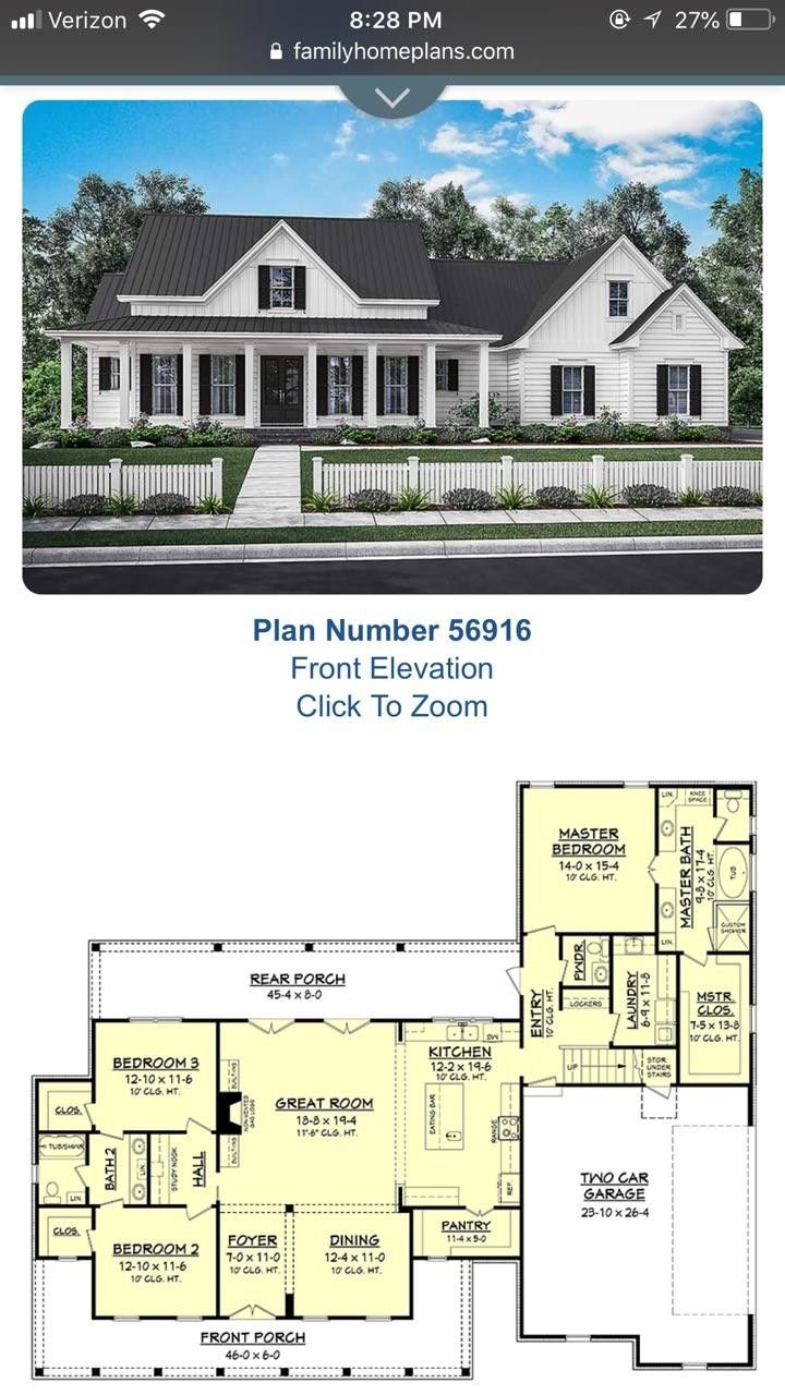 Pin By Becky Droste On A P S House House Styles House Plans Floor Plans