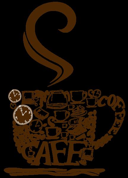 Decorative Coffee Cup PNG Vector Clipart Canecas, Xícara