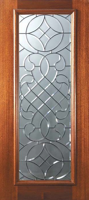 756 00 Full Lite Entry Doors Solid Mahogany Exterior Doors Entry Doors