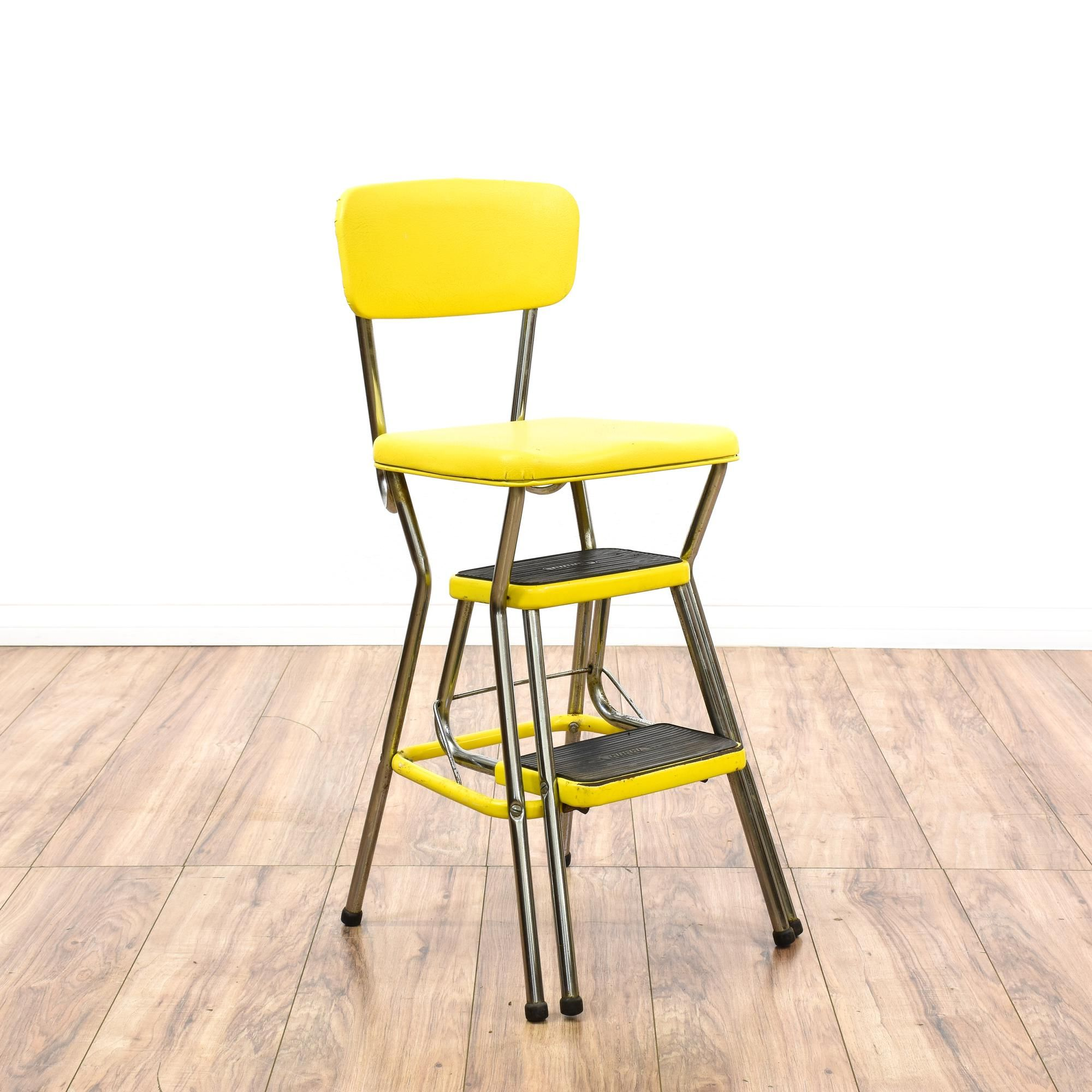 Lovely Cosco Retro Counter Chair Step Stool