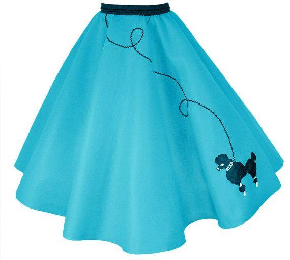 Adult poodle skirt pattern
