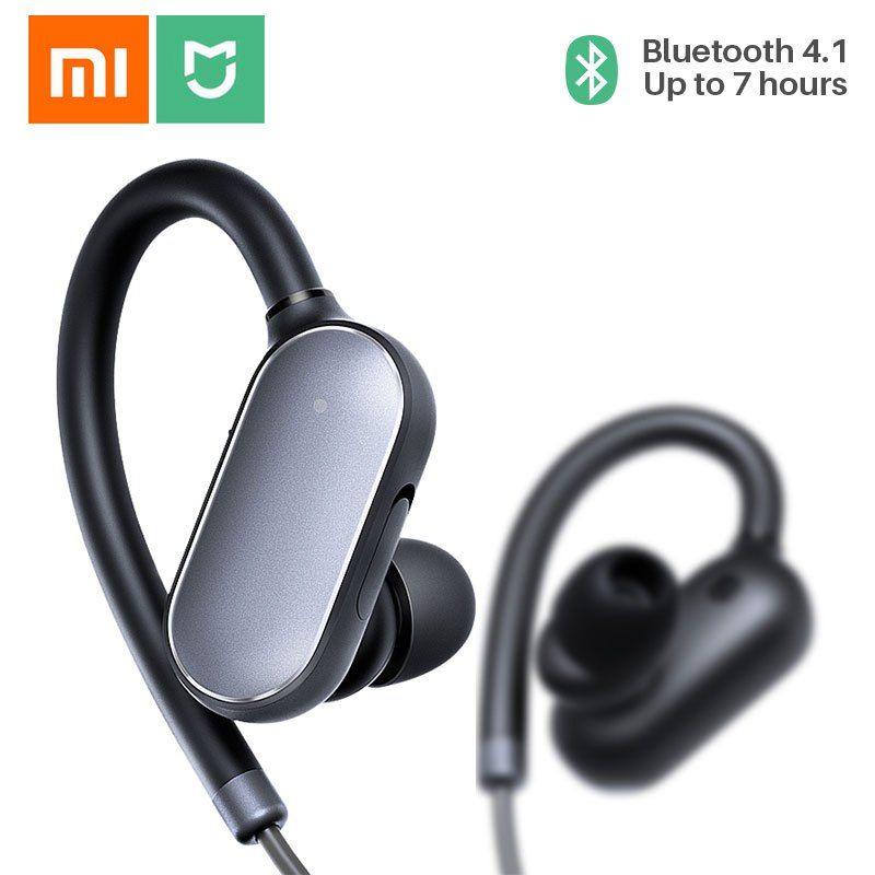 8abc0cc2fbb Cheap Xiaomi Mi Sports Bluetooth Headset IPX4 Waterproof Sweatproof Mini Bluetooth  4.1 Wireless Earphones Music Earbuds with Mic