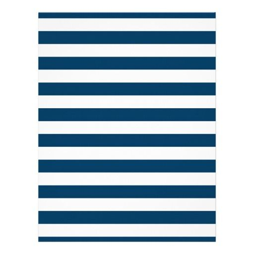 navy blue stripe baby scrapbook paper customized letterhead