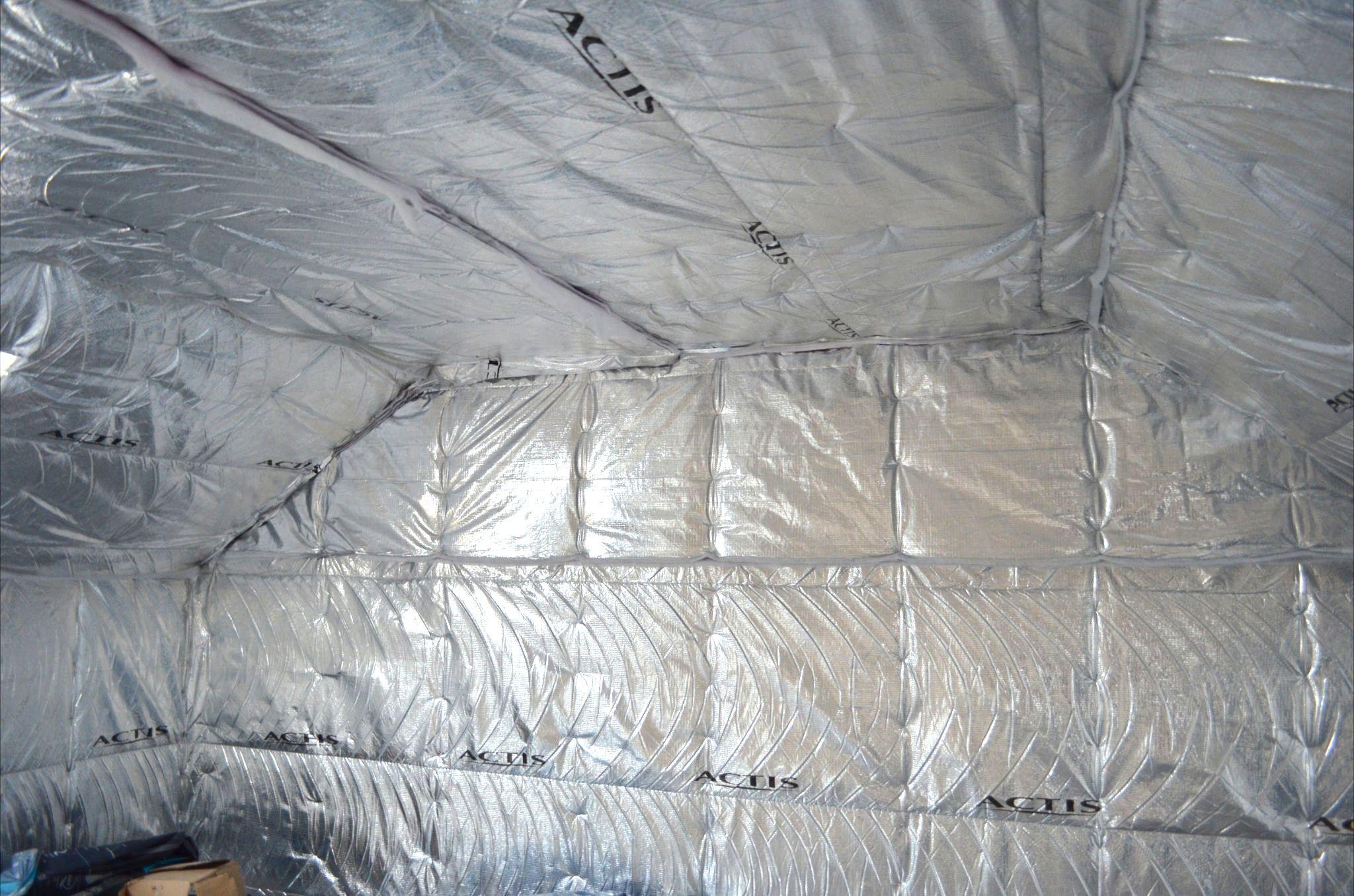 35mm Actis Triso Super 10 Multi Foil Insulation Roof Insulation Metal Roof Insulation Roof Insulation Foil Insulation
