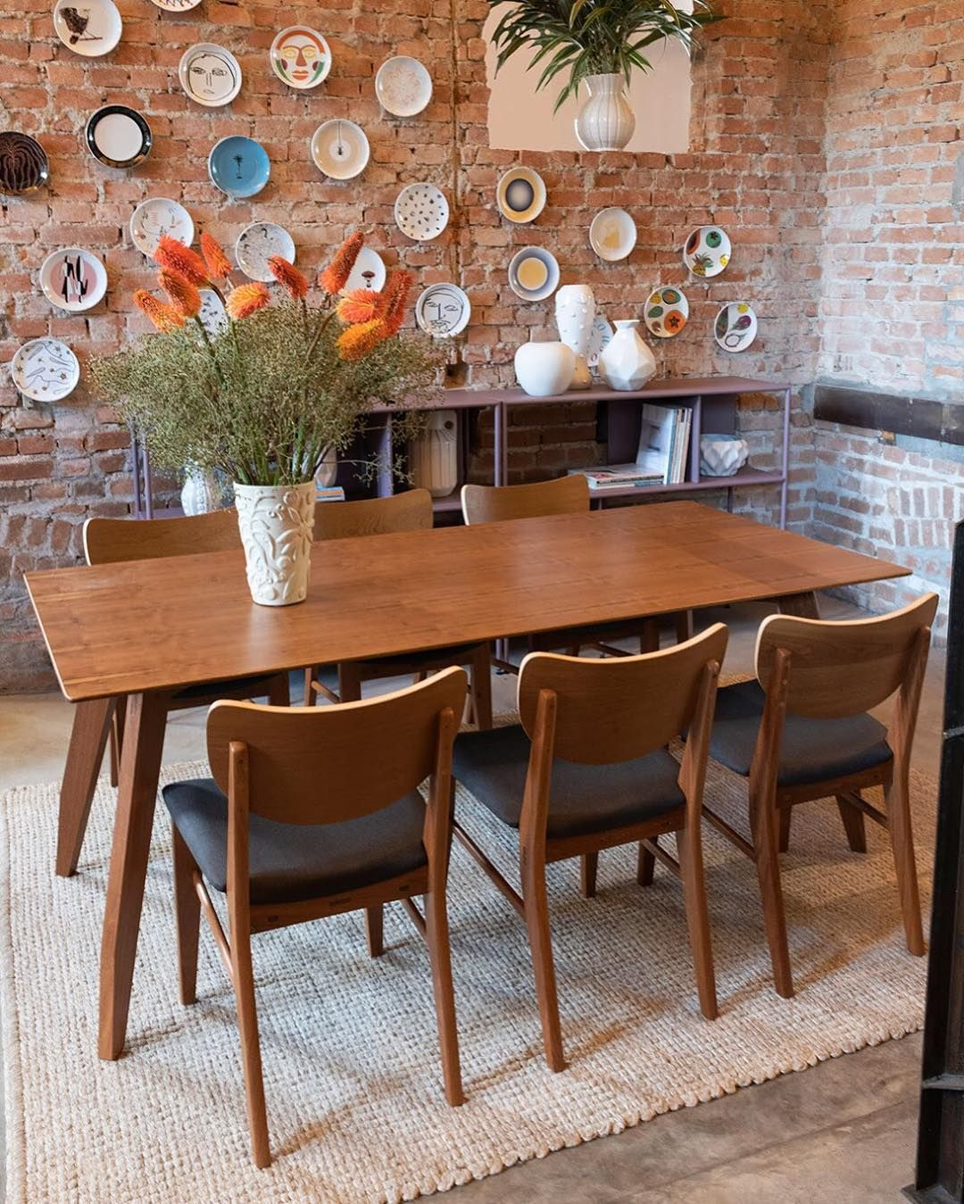 Photo of Dining room with Tango table (new!), Maria chair, Es …
