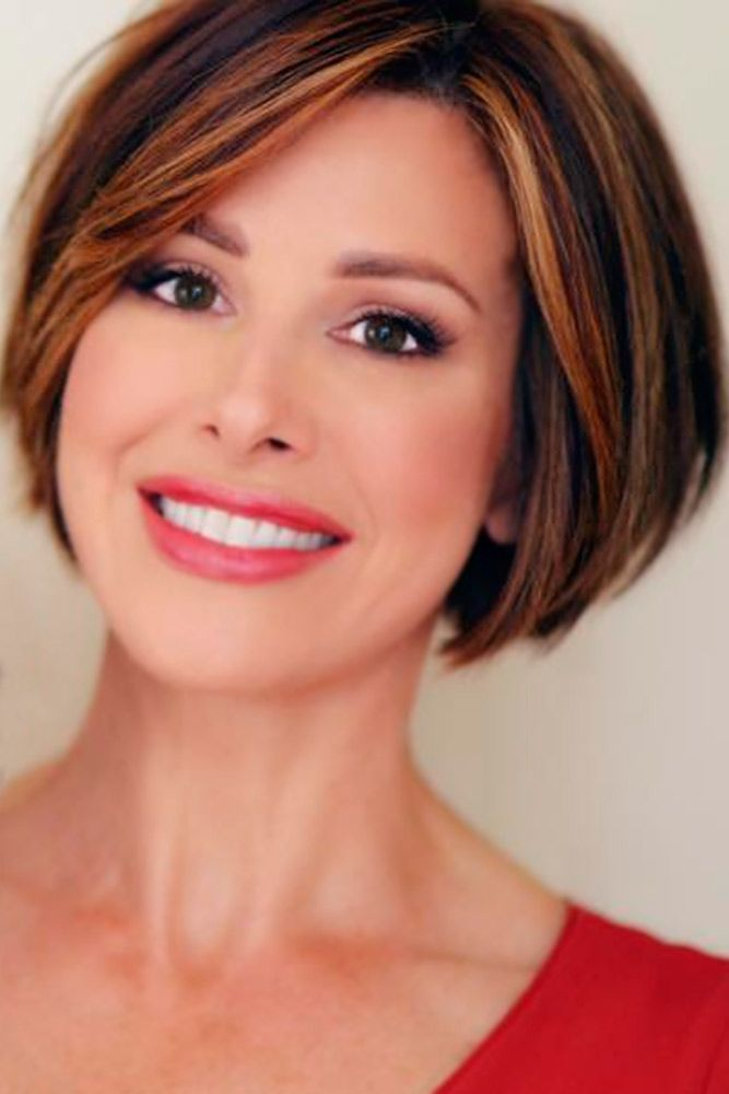 Classic And Elegant Short Hairstyles For Women Over 50 See More