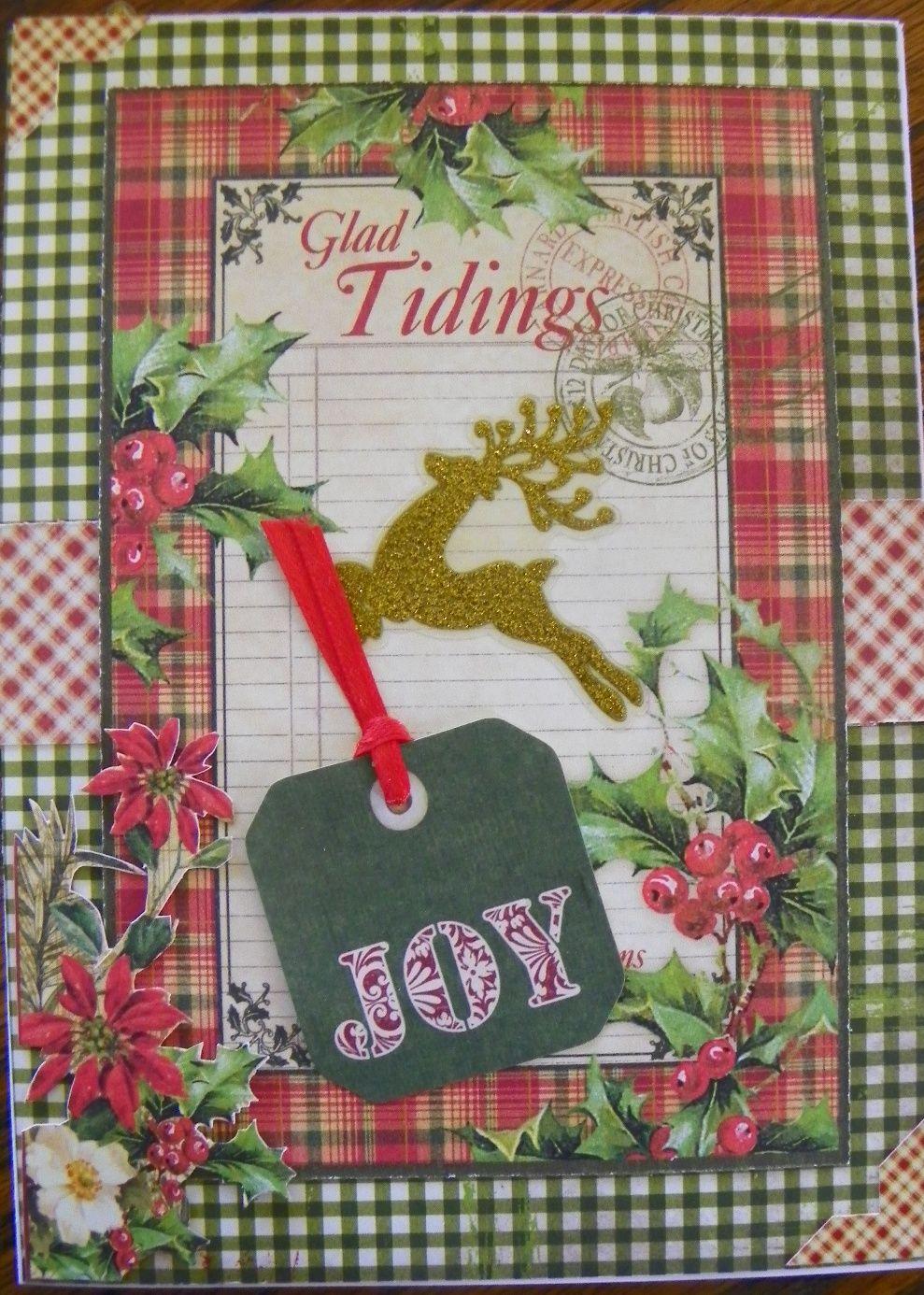 Scrapbook ideas christmas card - Christmas Card Scrapbook Com