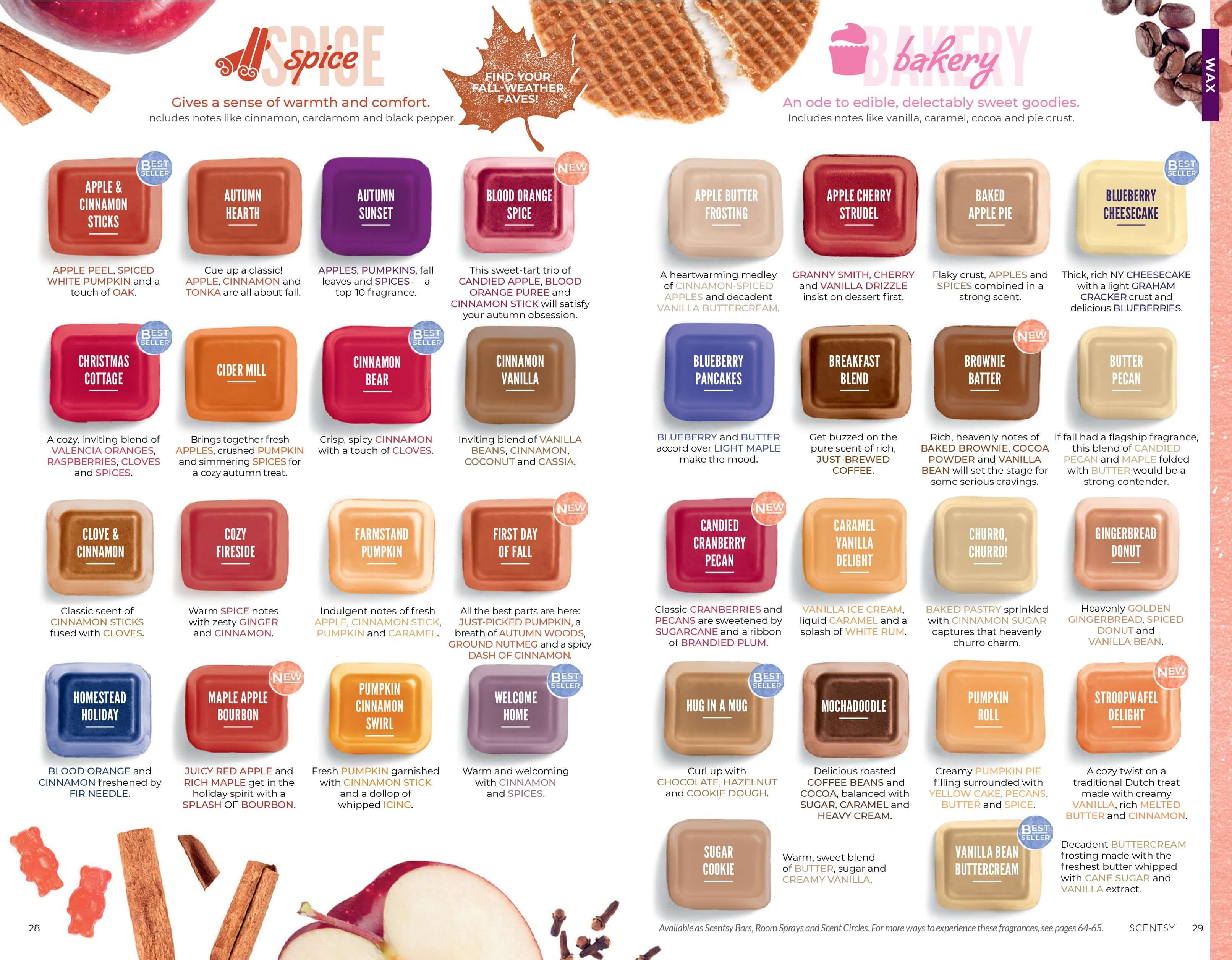 Scentsy Fall Winter 2019 2020 Catalog Slideshow With Images
