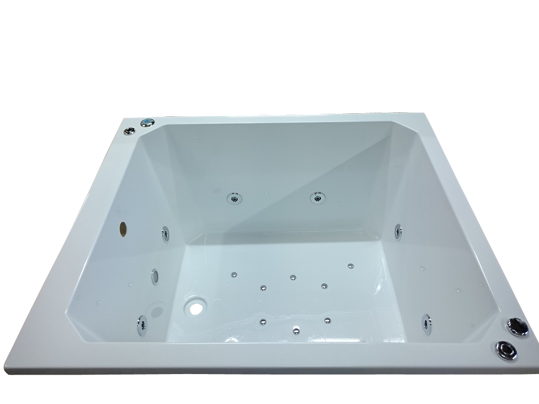 1100 x 1100 mm 20 Jet Oriental Deep Soaking Japanese Bath | Jet air ...