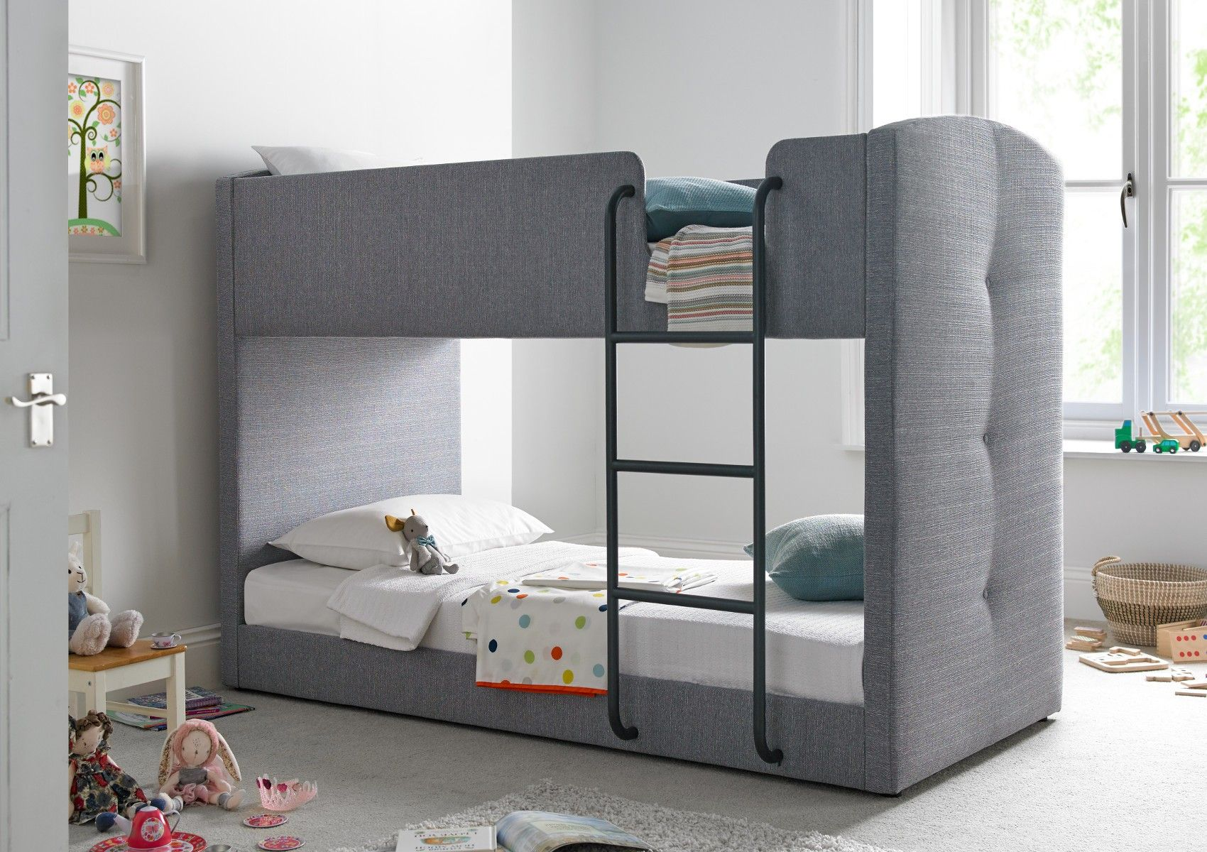 Exclusively designed for Time 4 Sleep the Kaydian Bunk bed