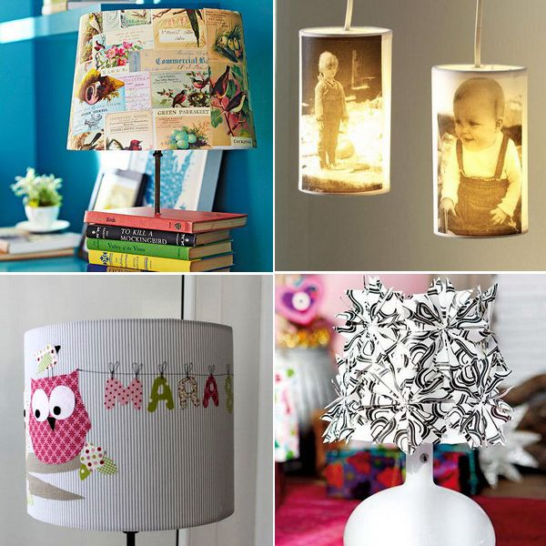 Original Lamps With Your Own Hands 22 Diy Ideas For Decorative Lamp Shade