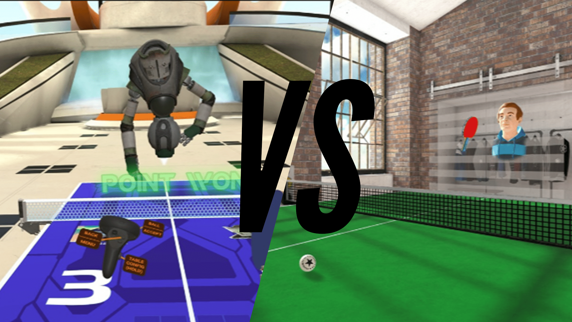 Best Oculus Quest Ping Pong Game Eleven Table Tennis vs