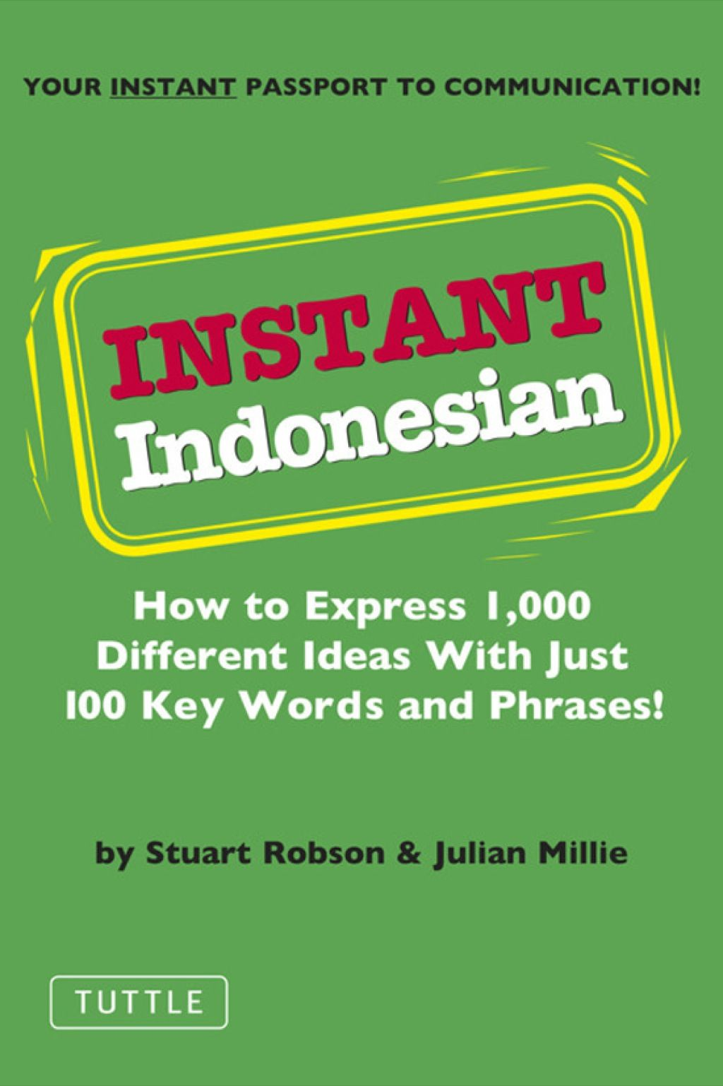 Instant Indonesian Ebook