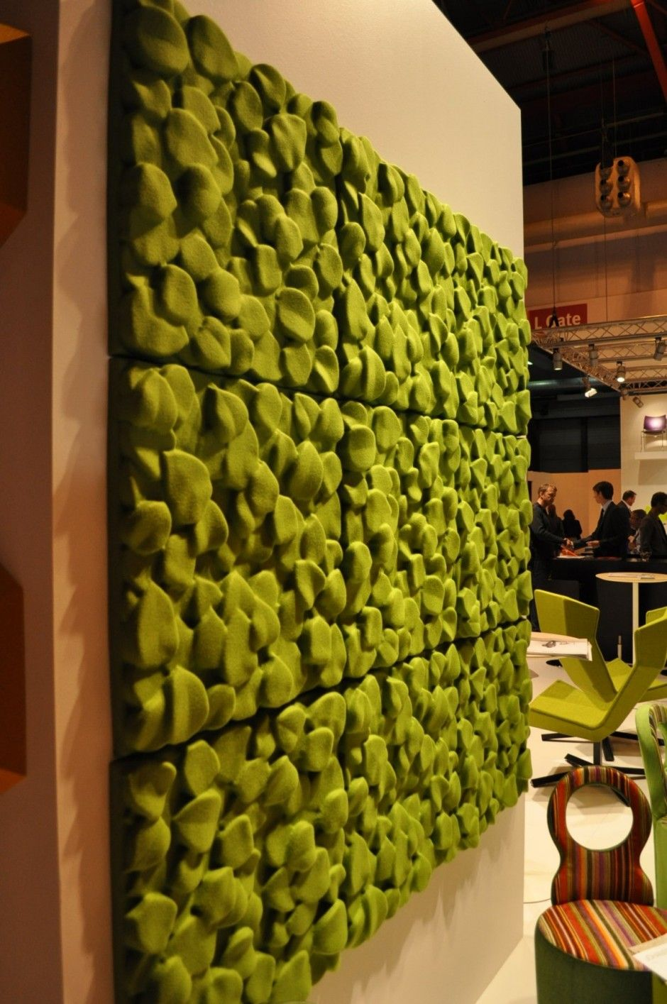 Sound Absorbent Panels by Johanson Design at 100% Design | Furniture ...