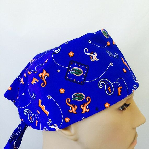 new product bd481 3a68e ... best price surgical scrub cap florida scrub hat bandana by usccreations  65670 ca872