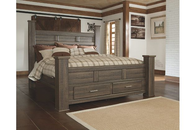 Juararo King Poster Bed with Storage complaints on poor quality ...