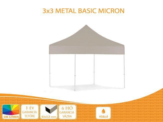 Bigtent 3×3 Metal BASIC- Bigtent 3×3 Metal BASIC  We recomme…