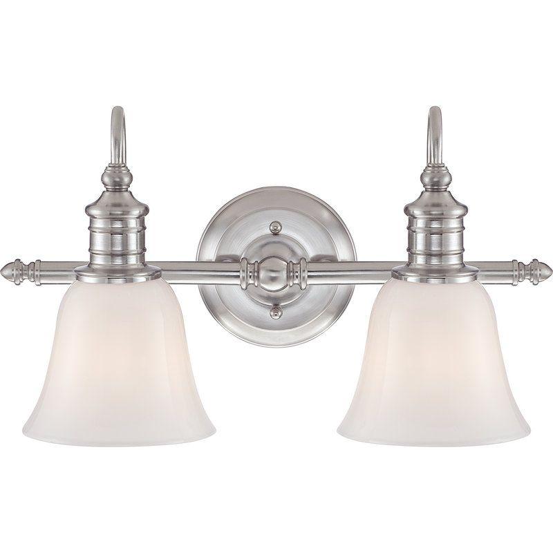 quoizel vanity light polished nickel buy the quoizel bgt8602bn brushed nickel direct shop for broadgate light 18