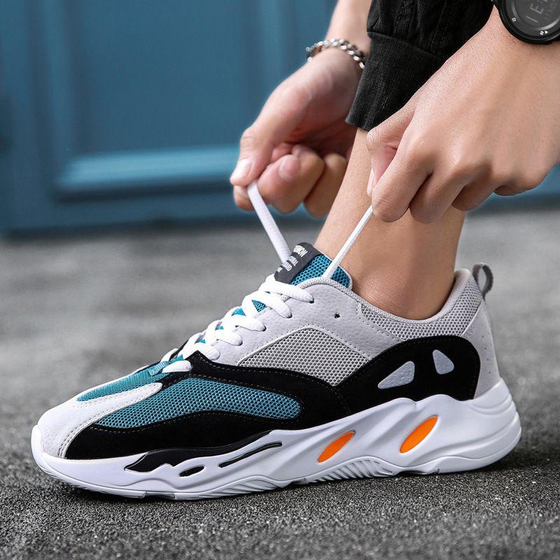 a70ab2026 Vintage Dad Men Shoes 2018 Kanye Fashion West Mesh Light Breathable Men  Casual Shoes Men Sneakers Zapatos Hombre 700