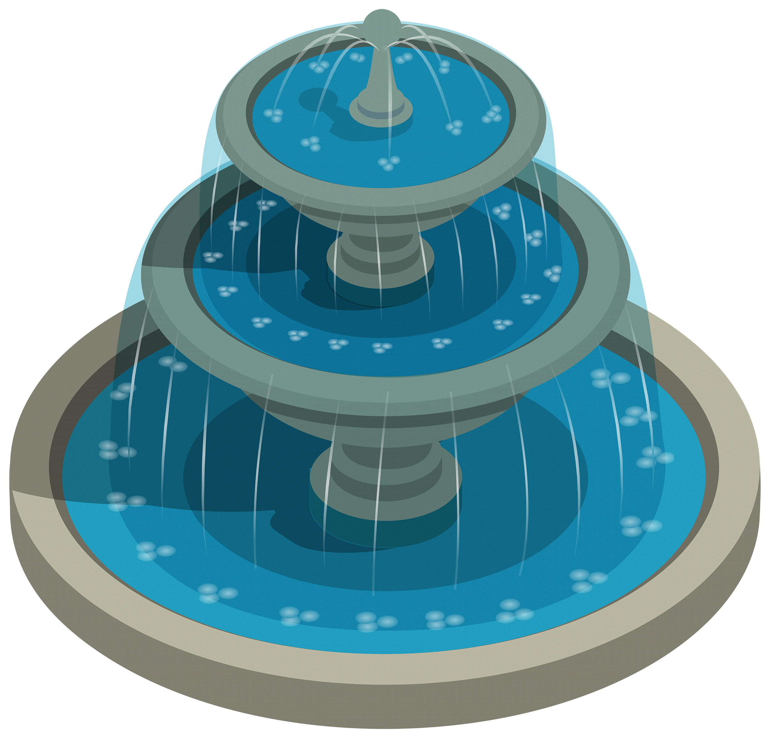 Round Water Fountain Png Clipart The Best Png Clipart Clip Art Water Fountain Fountain