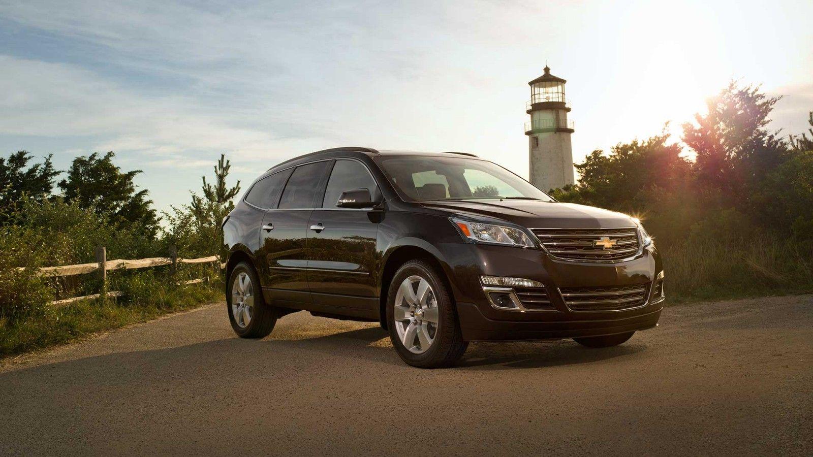 2014 Traverse Crossover Suv Exterior Photos Chevrolet