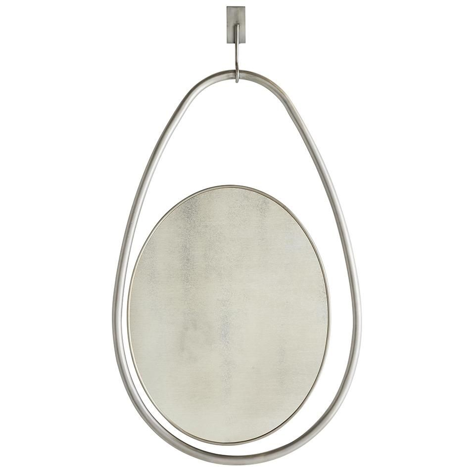 Arteriors Horizon Floating Teardrop Mirror Antique Mirror Arteriors Mirror