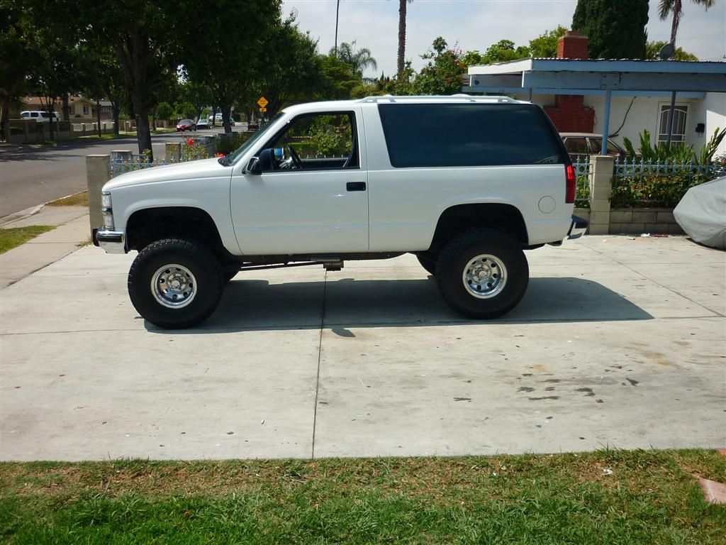 1993 Chevy Tahoe 2 Door 4x4 For Trade Or Sale Chevy Tahoe