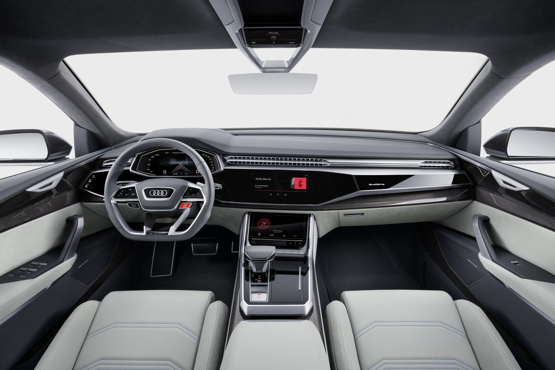 The Audi Q8 Concept Is The Gigantic Luxury Audi Suv The Buyers Demand In 2020 Audi Interior Best Luxury Cars Audi Suv