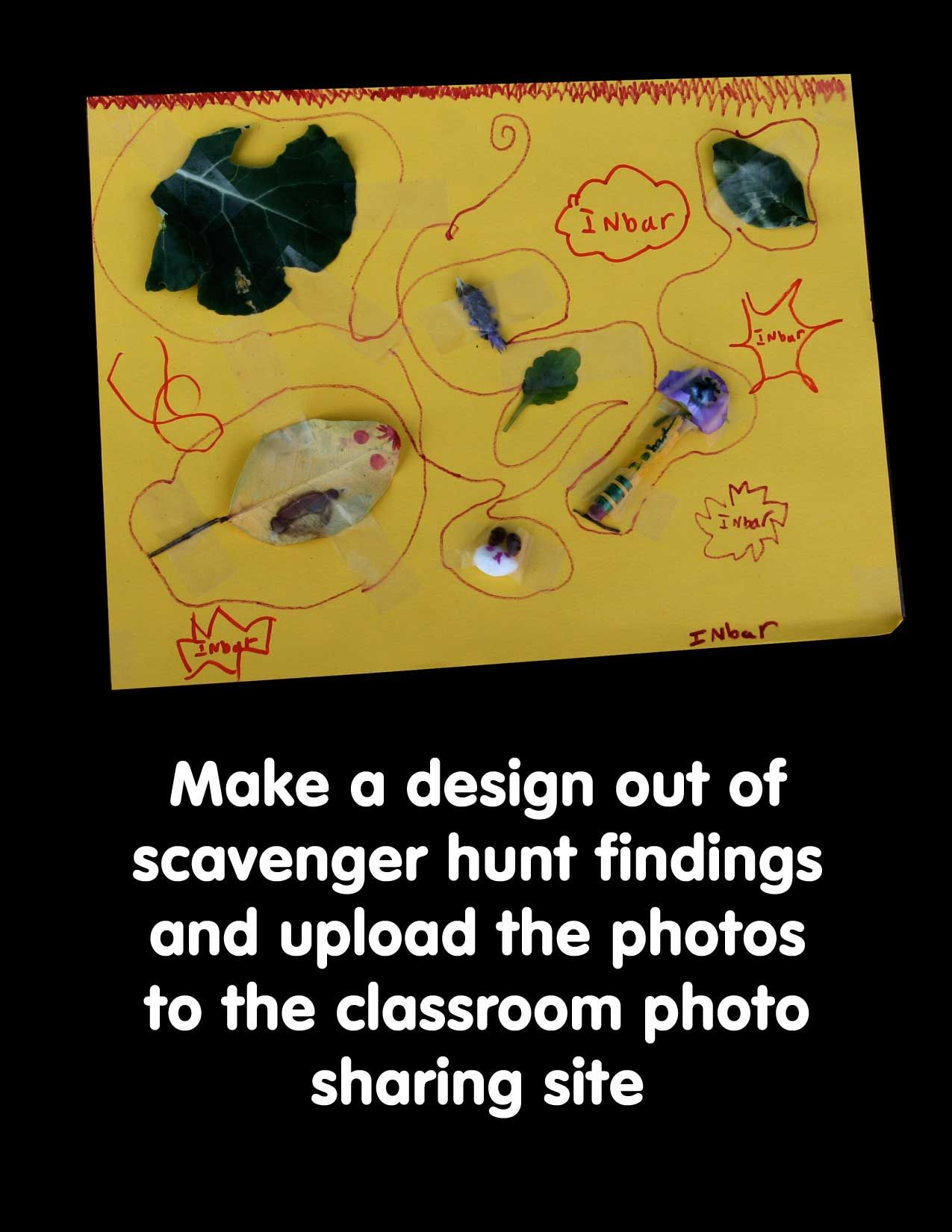 scavenger hunt design #2