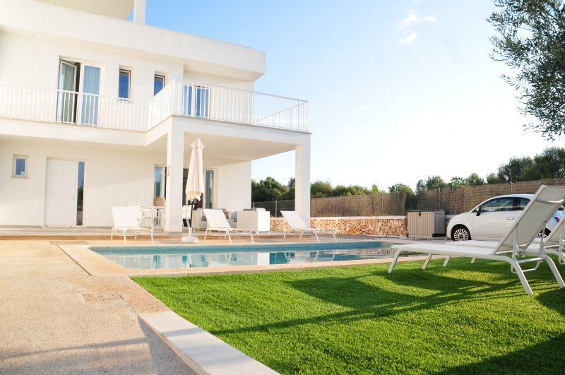 Auffahrt Villa Mallorca