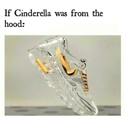 Image via We Heart It #casual #cinderella #fairytale #funny #girly #glass #heels #hood #quotes #shoes #sneaker