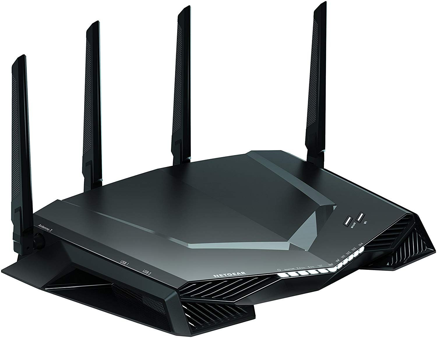 Amazon Com Netgear Xr500 Nighthawk Pro Gaming Wifi Router Ac2600 Dual Band Wireless Gigabit Ethernet Velocidades Control Netgear Router Wifi Router Netgear