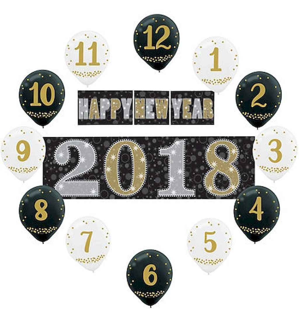 40 Best DIY 2018 New Years Eve Decor Ideas (With images ...