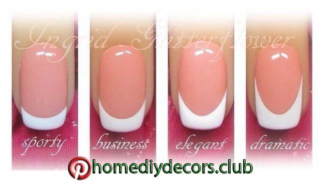 4 Ways To Do A French Manicure At Home 4 Ways To Do A French Manicure At Home French Tip Nails French Nails Nails